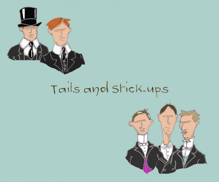 Tails and Stick-Ups