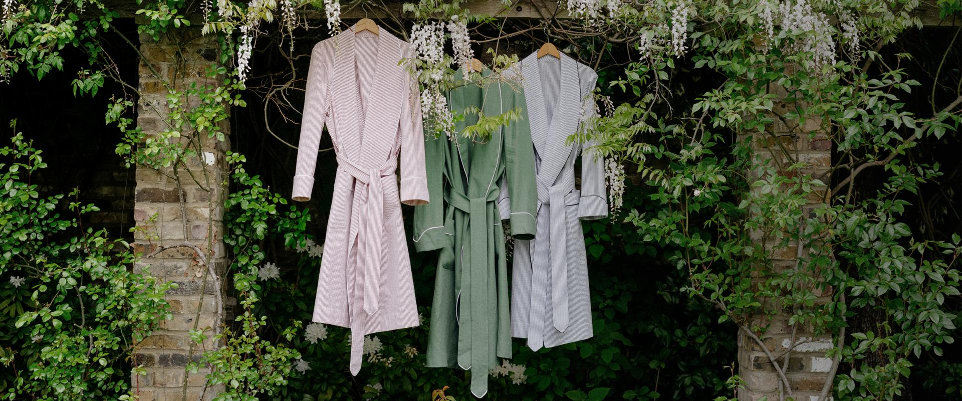 Summer Weight </br> Dressing Gowns