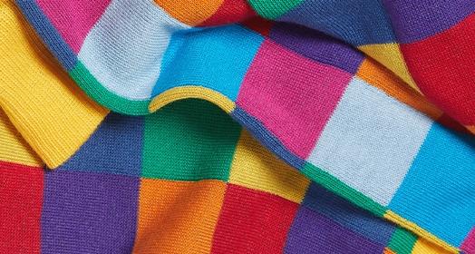 Mid Calf Design Socks