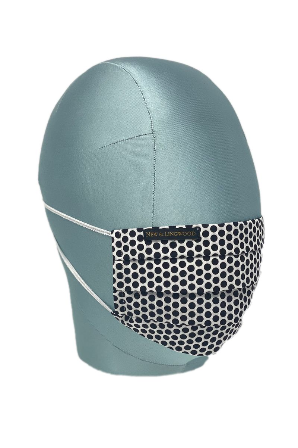 Black Spot Cotton Face Mask